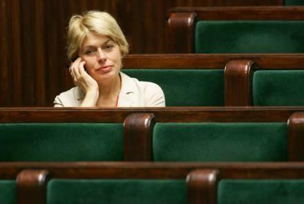 Wyjaśnień domagała się Izabela Jaruga-Nowacka/fot. Maciej Nabrdalik /Agencja SE/East News