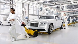 Wyjątkowy Rolls-Royce Wraith Inspired by Fashion