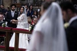 Wyjątkowy ślub w Watykanie