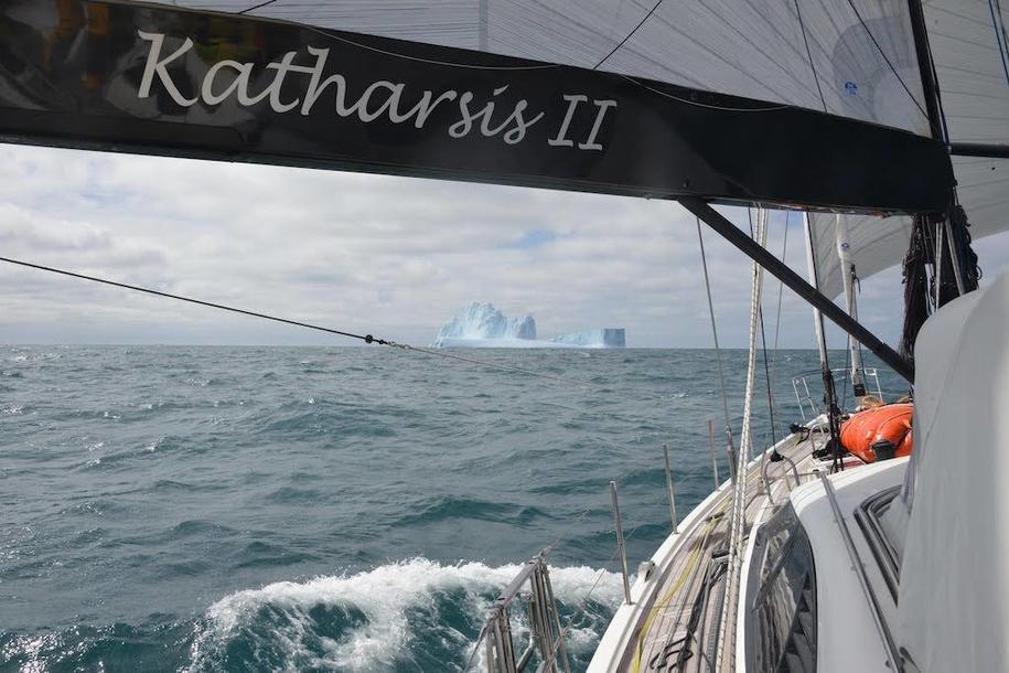 Wykonanie pełnej pętli wokół Antarktydy zajęło polskim żeglarzom 72 dni, 5 godzin, 33 minuty i 43 sekundy, zdj. Facebook Antarctic Circle 60s /Facebook