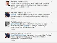 Wymiana uprzejmości między dziennikarzem TVN a posłem PiS