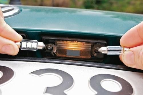 Wymiana żarówek na LED-y /Motor