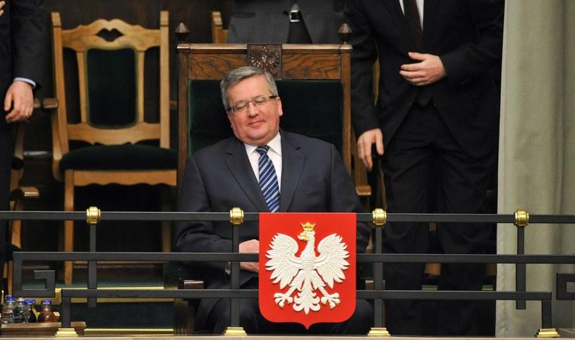 Wynik Bronisława Komorowskiego w wyborach prezydenckich, który wydawał się pewny, może być zagrożony /Piotr Bławicki /PAP