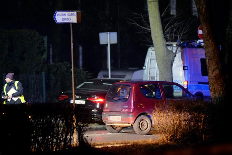 Wypadek Audi A8 z Beatą Szydło /Łukasz Kalinowski /East News