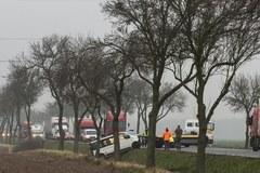 Wypadek busa na Opolszczyźnie