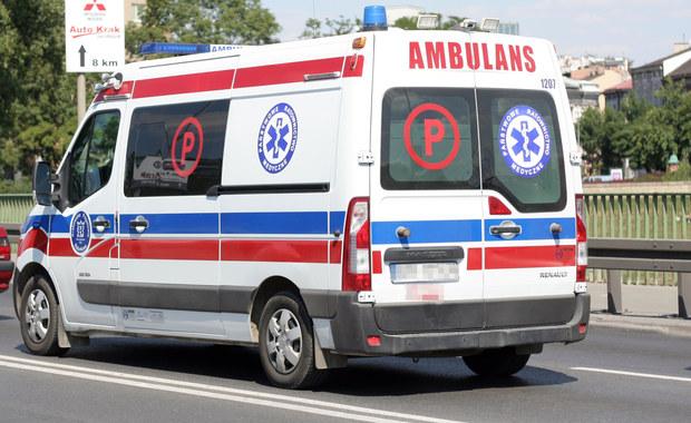 Wypadek karetki w Gdańsku. 1 osoba jest ranna