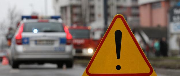 Wypadek na DK 92: Samochód zderzył się z ciężarówką