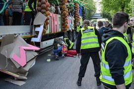 Wypadek na juwenaliach w Lublinie