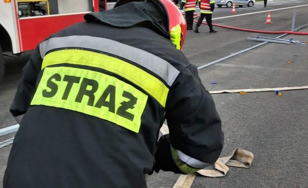 Wypadek na lotnisku Aleksandrowice. Pilot cessny zahaczył skrzydłem o ziemię