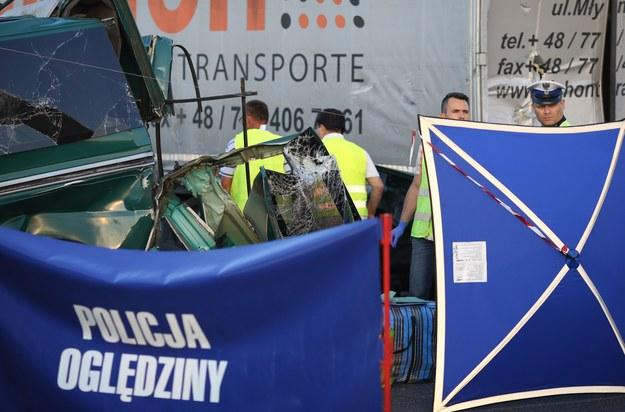 Wypadek na obwodnicy Lublina, zdj. ilustracyjne /Tomasz RYTYCH /Reporter