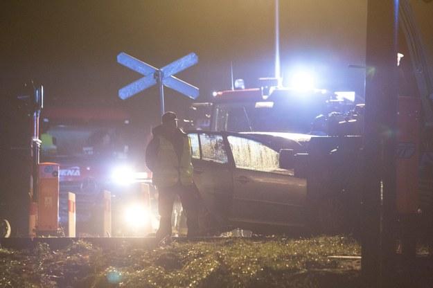 Wypadek na przejeździe kolejowym (arch.) /Marek Maliszewski  /Reporter