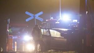 Wypadek na przejeździe kolejowym w Kielcach. Jedna osoba nie żyje