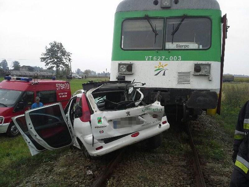 Wypadek na przejeździe /Gorąca Linia /RMF FM