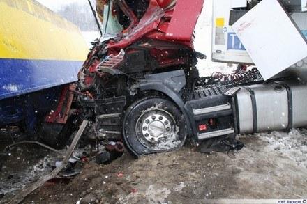 Wypadek na przejeździe /Policja