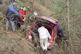 Wypadek na Rajdzie Krakowskim
