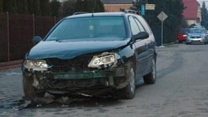 Wypadek na skrzyżowaniu w Radzyniu Podlaskim
