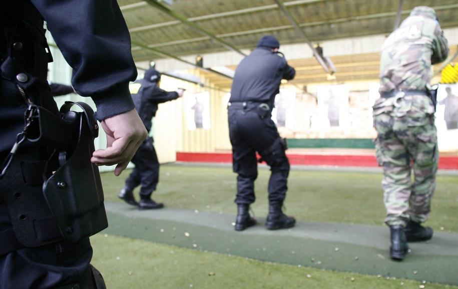 Wypadek na strzelnicy w Centrum Szkolenia Policji w Legionowie (zdj. ilustracyjne) / Andrzej Grygiel    /PAP