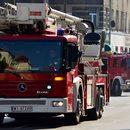 Wypadek pod Jarosławiem. 42-latka wjechała pod wóz strażacki