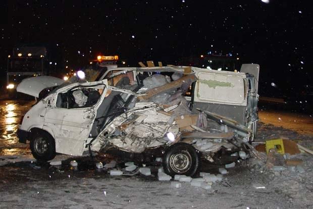 Wypadek pod Tychami /INTERIA.PL