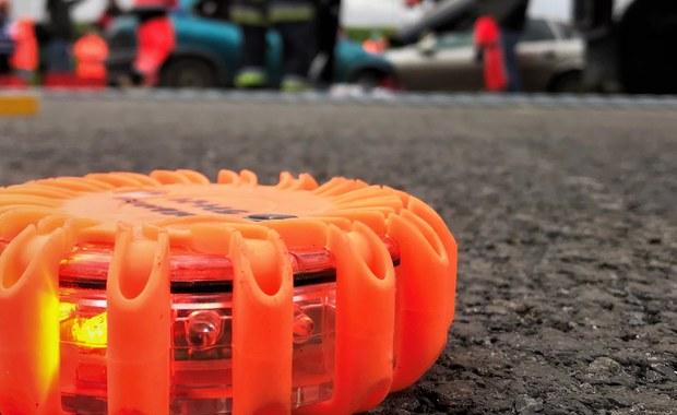 Wypadek pojazdu Żandarmerii Wojskowej na obwodnicy Trójmiasta