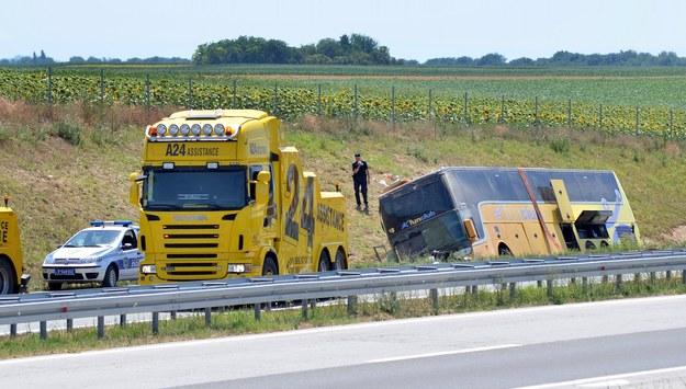 Wypadek polskiego autokaru w Serbii. Kierowca zatrzymany na 48 godzin