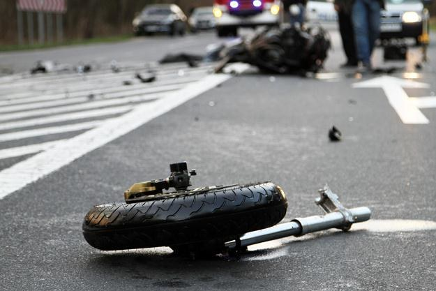 Wypadek... Potrafiłbyś pomóc? / Fot: Piotr Jedzura /Reporter