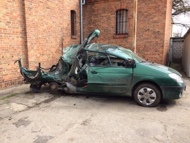 Wypadek przeżyły tylko dwie osoby. Siedem zginęło /RMF