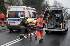 Wypadek w Boguchwale