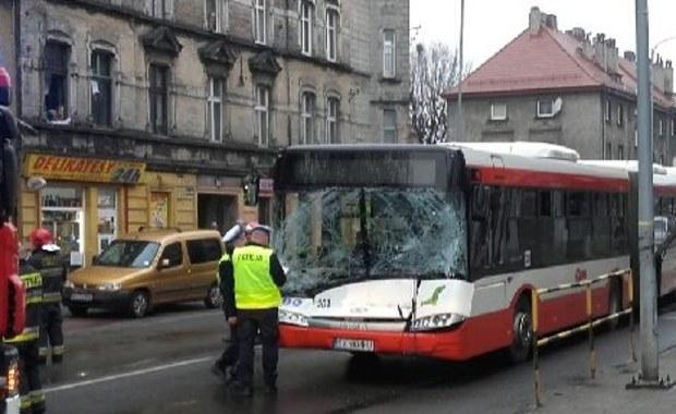 Wypadek w Bytomiu. 1 osoba została ranna