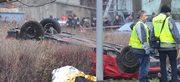 W Nowy Rok w Kamieniu Pomorskim kierowane przez 26-latka bmw wypadło z drogi i wjechało w grupę ludzi. Na miejscu zginęło pięć dorosłych osób, w tym policjant z żoną i jedno dziecko.