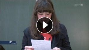 Wypadek w Klamrach: Pożegnanie na lekcji wychowawczej