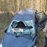 Wypadek w miejscowości Lipa