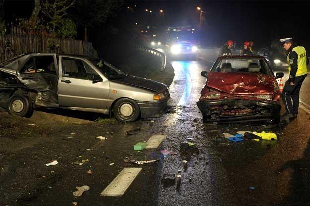 Wypadek w Śliwnicy (k. Przemyśla) /PAP