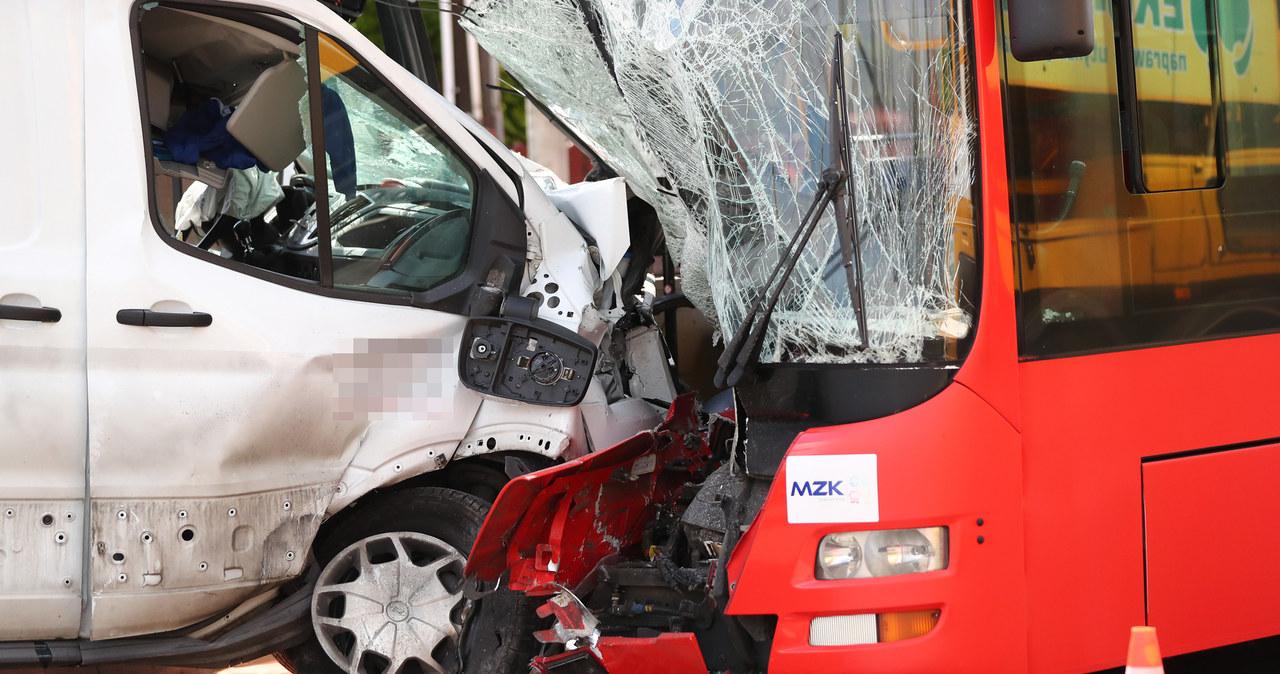 Wypadek w Stalowej Woli, 6 osób rannych