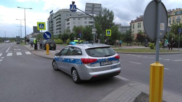Wypadek w Warszawie, 31.05.2017 /Łukasz Piątek /Reporter