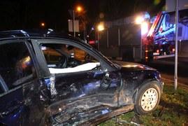 Wypadek we Wrocławiu. Dwie osoby ranne