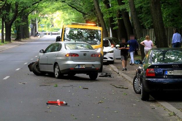 Wypadek we Wrocławiu /JAROSLAW JAKUBCZAK / POLSKA PRESS /East News