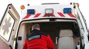 Wypadek z udziałem karetki wiozącej noworodka