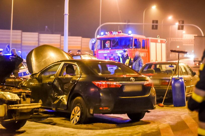 Wypadek z udziałem samochodu szefa MON /Tytus Żmijewski /PAP