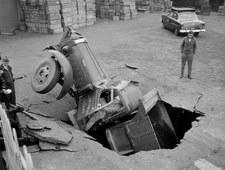 Wypadki samochodowe z lat 30.