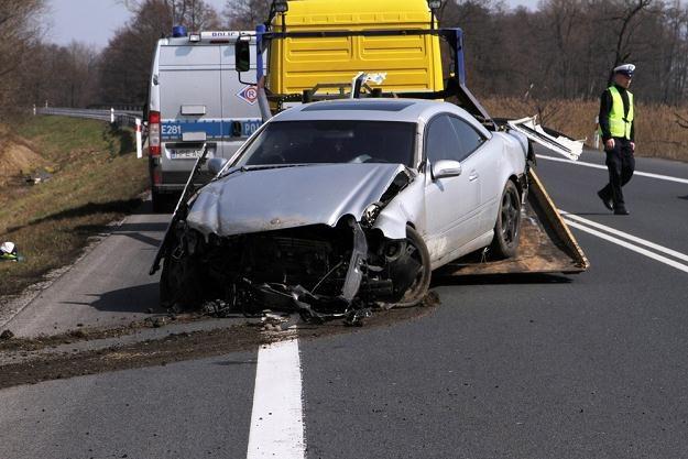 Wypadków jest coraz mniej... / Fot: Piotr Jedzura /Reporter