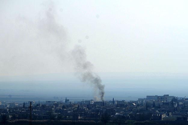 Wypchnięcie islamistów z Kobane to kwestia godzin /AFP