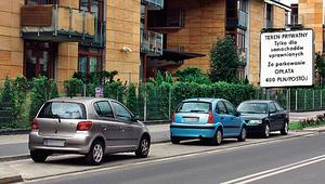 Wysoki mandat za parkowanie na osiedlu