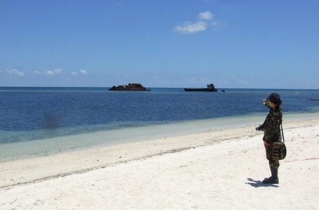 Wyspy Spratly, do których swoich praw dochodzą jeszcze Wietnam, Tajwan, Malezja i Filipiny. Tam powstanie baza lotnicza /materiały prasowe