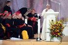 Wystąpienie papieża Franciszka wygłoszone na krakowskich Błoniach 28 lipca