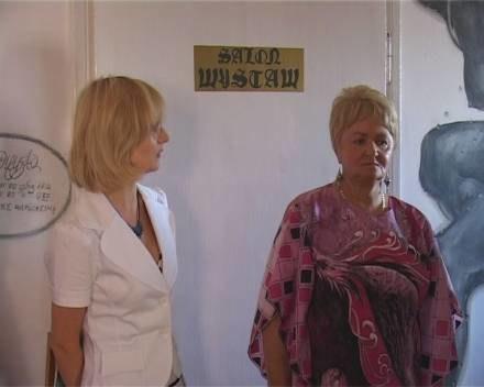 Wystawa Lidii Kubisztal /TV Rega