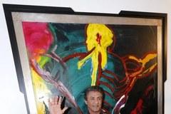 Wystawa obrazów... ekranowego Rambo
