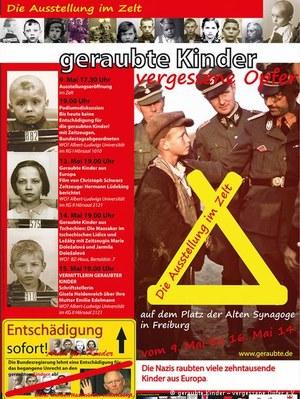 """Wystawa """"Porwane dzieci - zapomniane ofiary"""" będzie pokazywana w całych Niemczech /Deutsche Welle"""