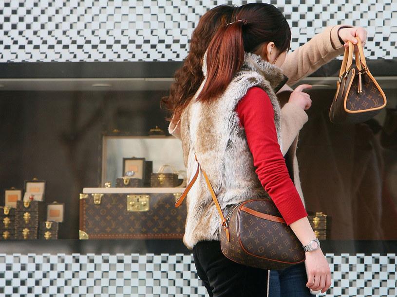 Wystawa sklepowa Vuittona w Szanghaju  /Getty Images/Flash Press Media