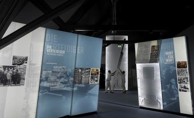 Wystawa w Niemczech upamiętniająca procesy norymberskie /AFP